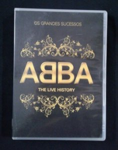 DVD Abba - The Live History
