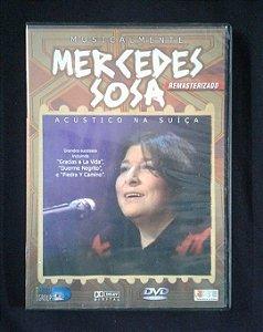 DVD Mercedes Sosa - Acústico na Suiça