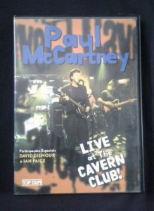 DVD Paul McCartney - Live at the Cavern Club !