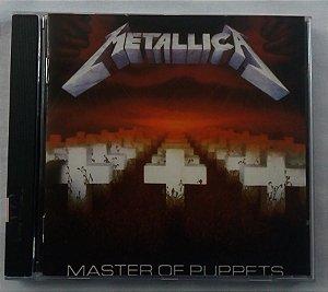 CD Metallica - Master of Puppets