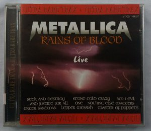 CD Metallica - Rains of Blood - Live