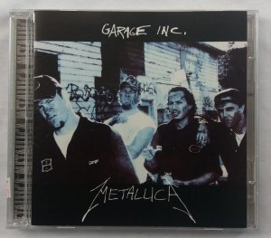 CD Metallica - Garage Inc - Duplo