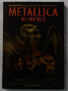 DVD Metallica - Some kind of Monster - Duplo