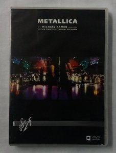 DVD Metallica - The San Francisco Orchestra - Duplo