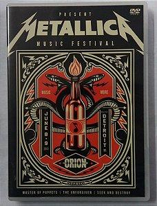 DVD Metallica - Music Orion Festival