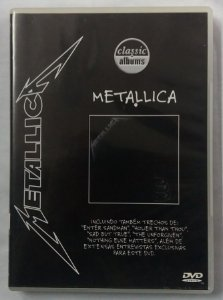 DVD Metallica - Metallica (black album)