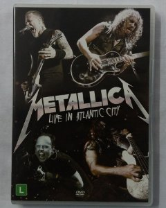 DVD Metallica - Live in Atlantic City