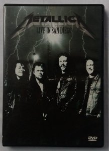 DVD Metallica - Live in San Diego