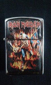 Isqueiro Iron Maiden - Made in England