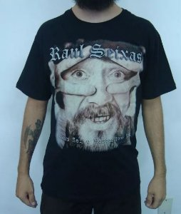 Camiseta Raul Seixas - Quero ser o homem que sou