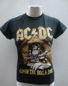 Baby look AC DC - Givin the Dog a Bone