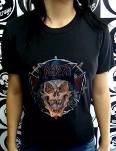 Baby look Slayer - Skull