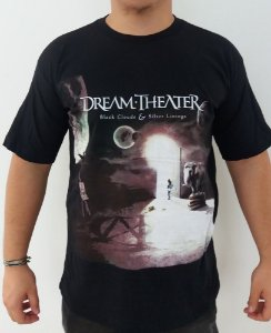 Camiseta Dream Theater - Black Clouds & Silver Linings
