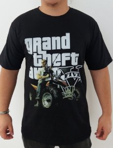 Camiseta GTA V - Grand Theft Auto