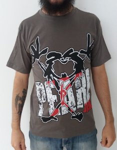 Camiseta Pearl Jam - Marrom