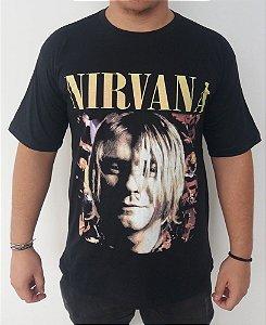 Camiseta Nirvana - Kurt Cobain