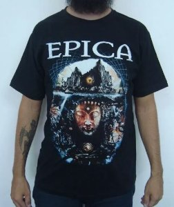 Camiseta Epica - The Brazillian Enigma Tour