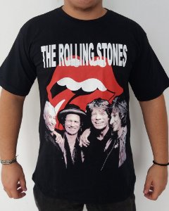 Camiseta the Rolling Stones - Banda