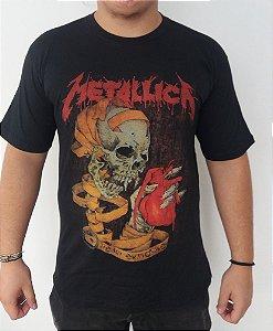 Camiseta Metallica - Heart Explosive