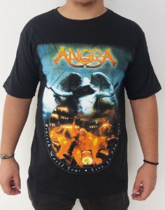 Camiseta Angra - Rebirth World Tour
