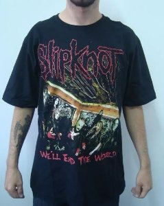 Camiseta Slipknot - We'll End the World