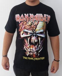 Camiseta Iron Maiden - The Final Frontier