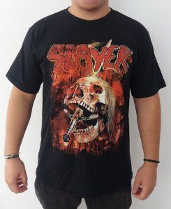 Camiseta Slayer - Skull