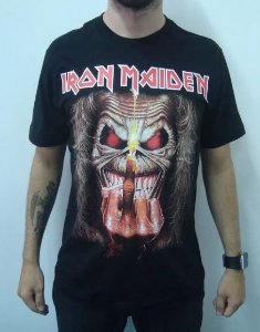 Camiseta Iron Maiden - Up the irons
