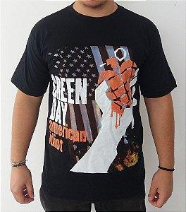 Camiseta Green Day - American Idiot