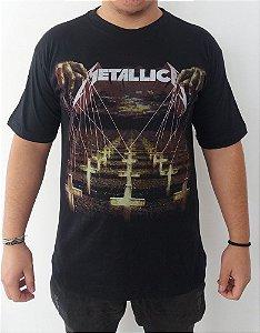 Camiseta Metallica - Master of Puppets