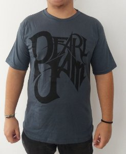 Camiseta cinza Pearl Jam