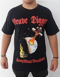 Camiseta Grave Digger - Heavy Metal Breakdown
