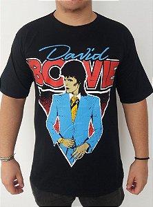 Camiseta David Bowie promo