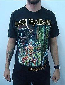 Camiseta Iron Maiden - Somewhere in time