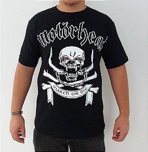 Camiseta Motorhead - March or Die