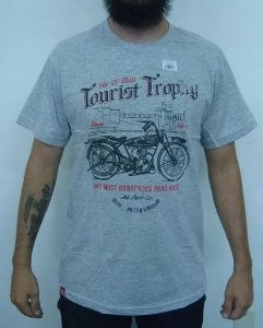 Camiseta Moto Custom - Tourist