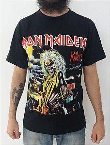 Camiseta Iron Maiden - Killers