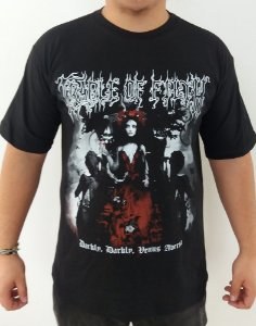 Camiseta Cradle of Filth - Darkly Darkly Venus Aversa