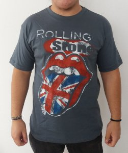 Camiseta The Rolling Stones - Cinza