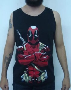Camiseta regata Deadpool