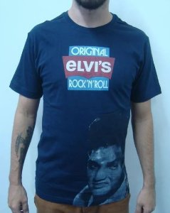 Camiseta Elvis Presley - Original Rock and Roll