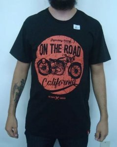 Camiseta Moto - on the Road California