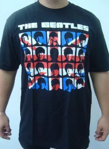 Camiseta The Beatles - A Hard Day's Night