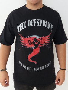 Camiseta The Offspring - Rise and Fall, Rage and Grace