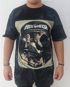 Camiseta mesclada Helloween - Keeper of the Seven Keys - the legacy