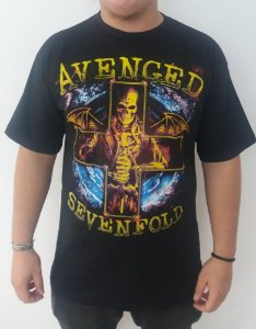 Camiseta Avenged Sevenfold - Cruz