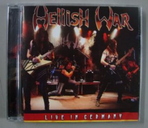 CD Hellish War - Live in Germany