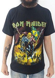 Camiseta Iron Maiden - Maiden England
