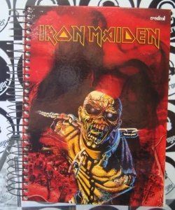 Caderno Escolar - Iron Maiden - Piece of Mind