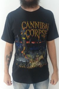 Camiseta Cannibal Corpse - A Skeletal Domain